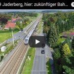 Der zukünftige Bahnhaltepunkt